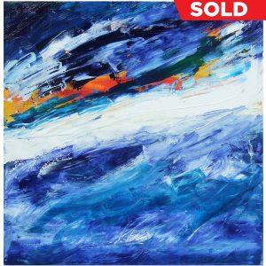 Saphire Sea Storm